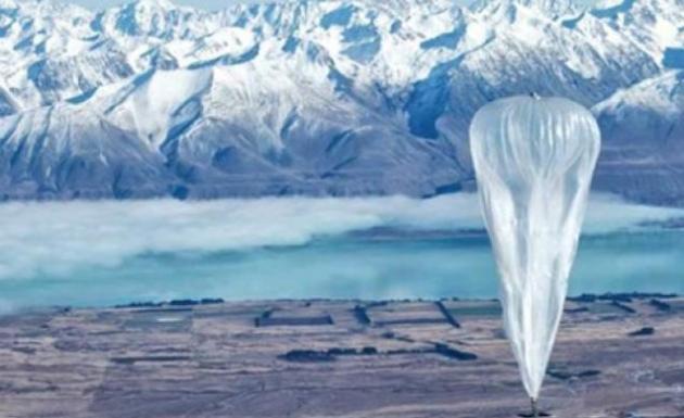 Google Balonları Bedava İnternet Hizmeti Sunacak