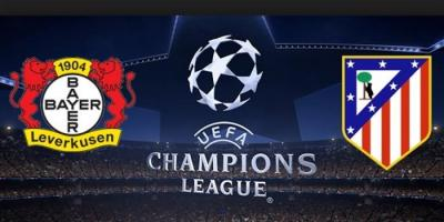 B.Leverkusen A.Madrid Şampiyonlar Ligi 2. Tur