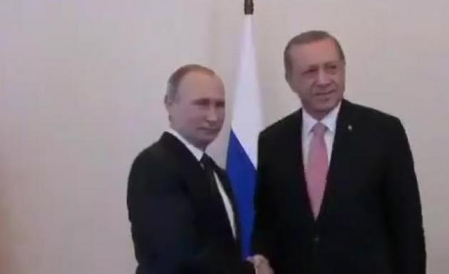 Cumhurbaşkanı Erdoğan Rusya Ziyareti 9-10 Mart