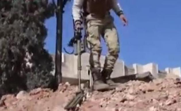 El Bab'ta Terörist Kalmadı EYP Kontrolü Yapılıyor