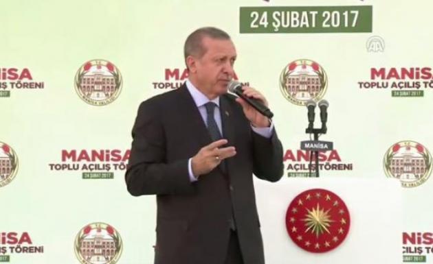 Cumhurbaşkanı Erdoğan Manisa'da CHP'ye Doğru Konuş