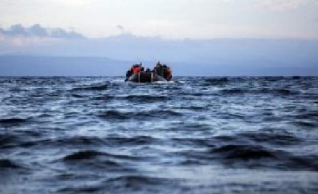 Kuşadası Açıklarında Mülteci Botu Battı