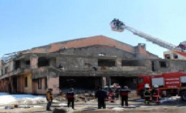 Yangın Tatbikatı Gerçeğini Aratmadı Başarıyla Yapıldı