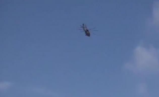 Yüksekova'da Helikopter Trafiği