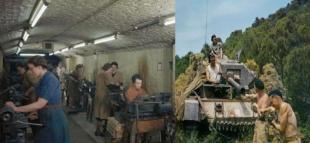 2. Dünya Savaşı Fotoğrafları Renklendirildi