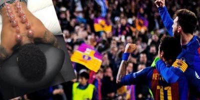 Neymar Sırtına Kupa Çektirdi