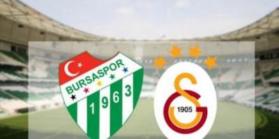 Bursaspor Galatasaray Turgay Şeren Sezonu 29. Hafta