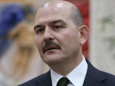 İçişleri Bakanı Süleyman Soylu Üs Bölgesi'nde