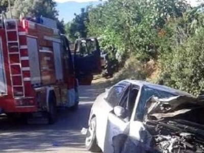 Bayındır Torbalı Yolunda Kaza 8 Yaralı