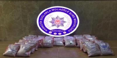 İstanbul'a Giden Uyuşturucu İzmit'te Yakalandı