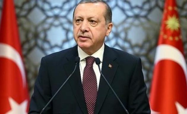 AB Konseyi Başkanı Cumhurbaşkanı Erdoğan'ı Karşıladı