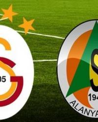 Alanyaspor Galatasaray Turgay Şeren Sezonu 33. Hafta