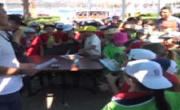 Bitez Koyunda '' Akdeniz'i Temiz Tutalım '' Etkinliği