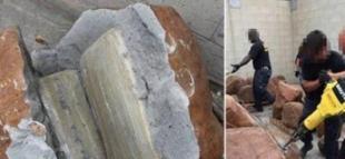 Kayanın İçinden Çıkanlar Şok Etti