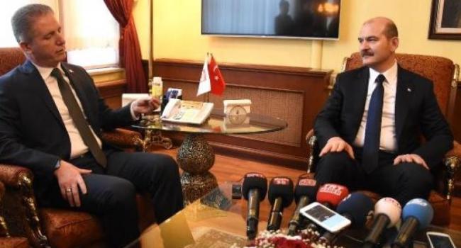 İçişleri Bakanı Süleyman Soylu Sivas'ta