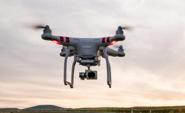 Cezayı Yedi Drone Gördü Diyip Tepki Gösterdi