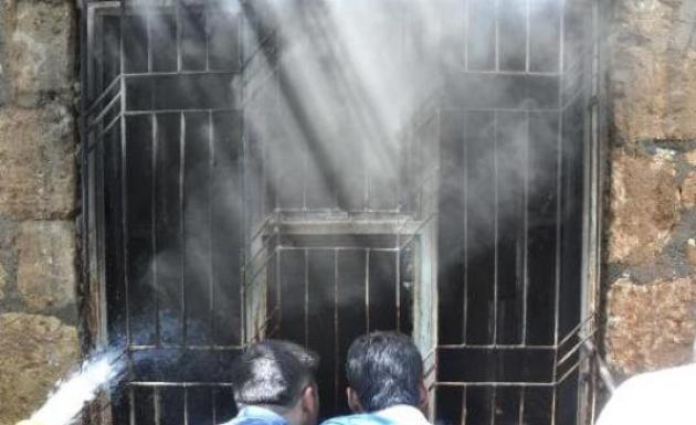 Kerpiç Evde Yangın 1 Ölü