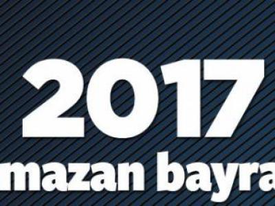 2017 Ramazan Bayramı