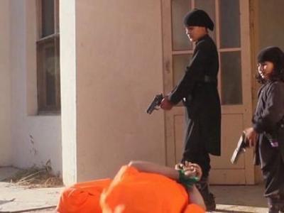 IŞİD İnfaz İçin Çocukları Kullandı
