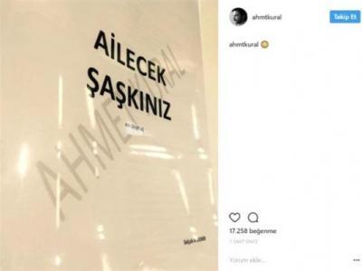 Ahmet Kural Sosyal Medya'dan Paylaştı '' Ailecek Şakınız ''