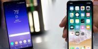 Samsung Note 8 mi, iPhone X mi?