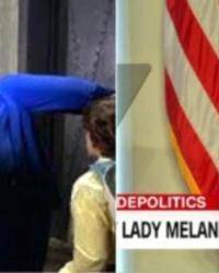 Melania Trump'ın Elbisesi Sosyal Medyanın Diline Düştü