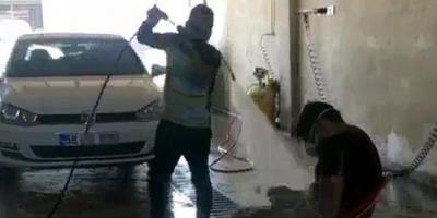 Oto yıkamacıdan çalışanına ilginç ceza!