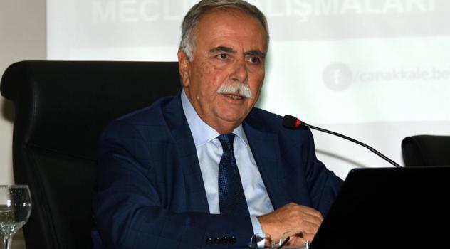 Çanakkale Belediye Başkanı'ndan Erdoğan'a yanıt geldi