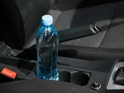 Arabanıza su şişesi bırakıyorsanız dikkat!