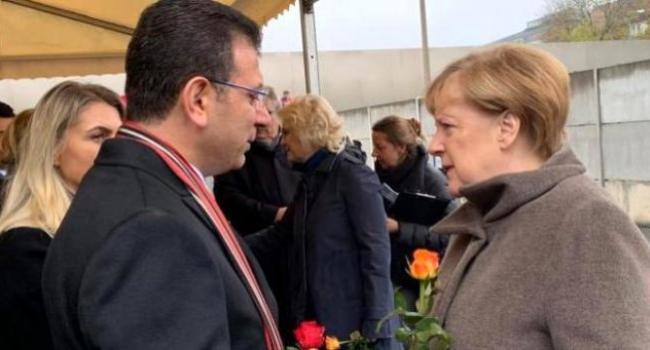 İBB Başkanı Ekrem İmamoğlu'ndan Almanya Başbakanı Angela Merkel'e davet