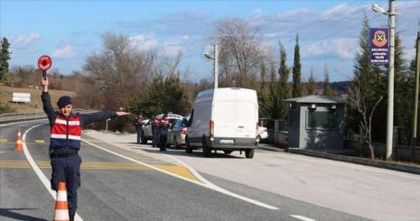 Trafik uygulamasında 1200 araç trafikten men edildi