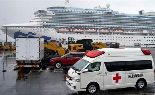 Karantinadaki gemide 70 kişide daha 'Kovid-19' tespit edildi