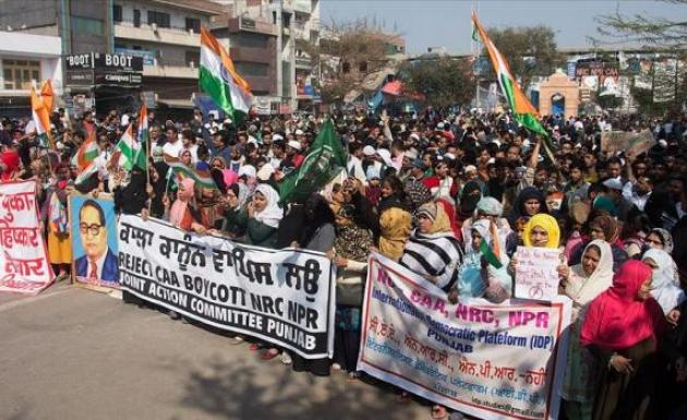 Vatandaşlık Yasasına protestolar sürüyor