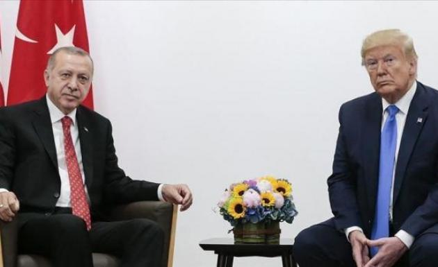Trump'tan İdlib konusunda 'Erdoğan'la birlikte çalışıyoruz'