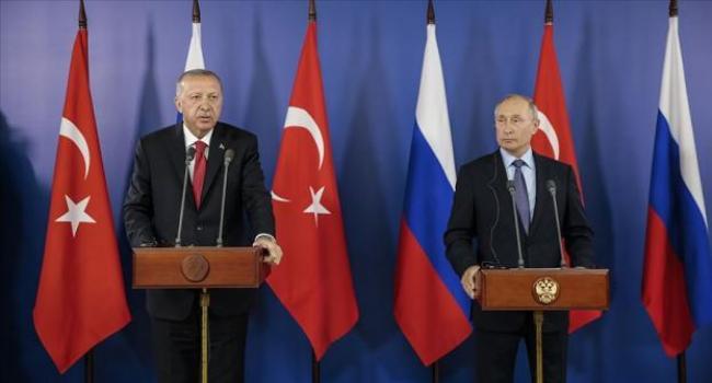 Türkiye Cumhurbaşkanı Erdoğan ile Rusya Devlet Başkanı Putin Moskova'da bir araya gelecek.