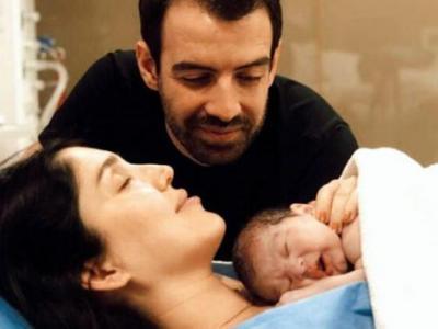 Yavuz Bingöl'ün kızı Türkü Bingöl anne oldu