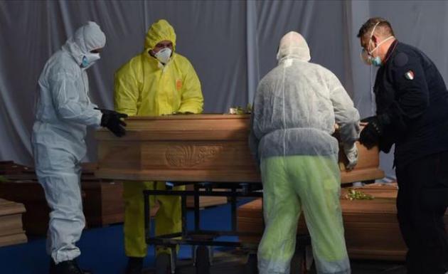 İtalya'da corona virüsten ölenlerin sayısı 17 bin 127'ye yükseldi