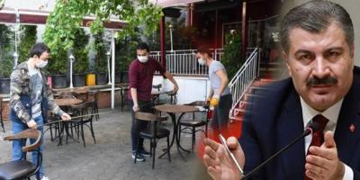 Kafe ve restoranlar yarın açılıyor! Sağlık Bakanlığı yeni kuralları açıkladı