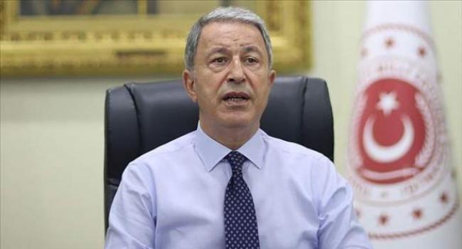 Milli Savunma Bakanı Akar: Ayasofya'yla ilgili Türkiye ve Türk milleti dışında kimsenin söz söyleme hakkı yoktur