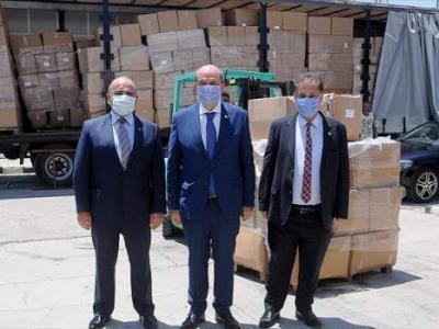 Türkiye'den KKTC'ye tıbbi malzeme desteği