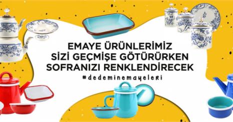 Yıllara Meydan Okuyan Emayenin Türkiye'deki İlk Kıvılcımı: DEDEMİN EMAYELERİ