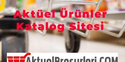Aktüel Ürünler Katalog Sitesi aktuelbrosurleri.com