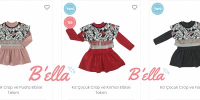 Kız Çocuklarının Giyim Trendlerini Bella Giyim İle Yakalayın