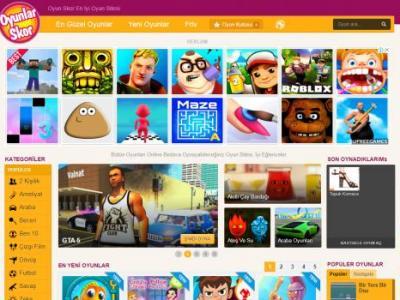Oyun Skor Eğlenceli Güncel Oyunlar Sayfası