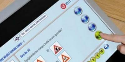 Elektronik ehliyet sınavı soruları nelerdir?