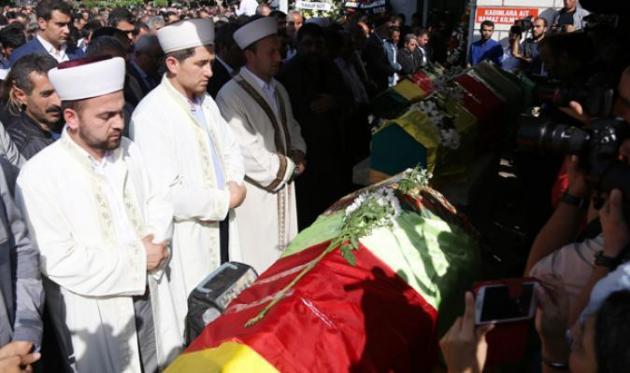 Ankara'da Hayatını Kaybeden 5 Kişi Aynı Camiden Uğurlandı