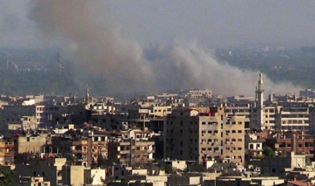 Rusya'ya Suriye'de Havan Topu Saldırısı