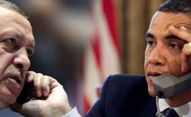 Erdoğan Obama Uçak Düşürülme Olayını Telefonda Konuştu