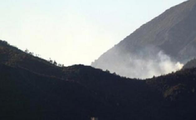 Rejim Güçleri Kızıldağ Tepesini Vuruyor