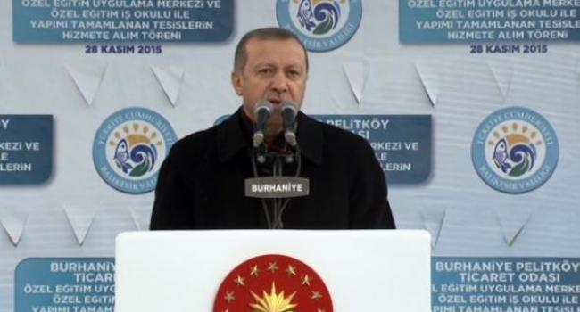 Erdoğan'dan diyarbakır'daki saldırı ile ilgili açıklama